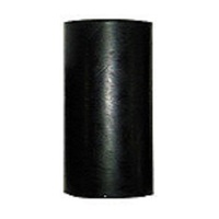 "BLACK RUBBER - 4.5"" Bilge/Straight"
