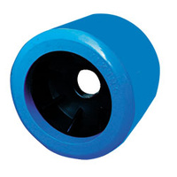 WOBBLE ROLLER - Blue, Smooth