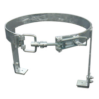 GAS BOTTLE HOLDER - Clamped, Large