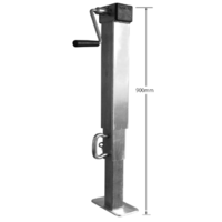 JOCKEY STAND, SQUARE (DROP LEG) - 1000kg, 900mm-1590mm