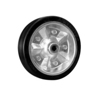 "JW WHEEL - 8"" Solid, Metal Rim"