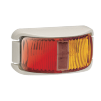 LED CLEARANCE - Red/Amber, with White Base (Narva)