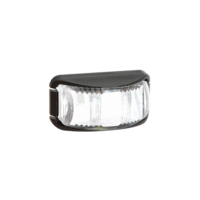 LED CLEARANCE - White, with Black Base (Narva)
