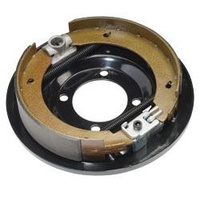 "MECHANICAL BACKING PLATE - 9"" Left Hand"