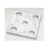 "FISH PLATE - Slotted, Black Heavy Duty (5/8"" U Bolts)"