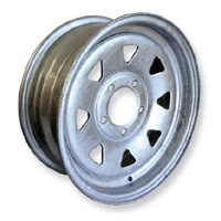 "RIM ONLY - 14"" Ford, Galvanised"