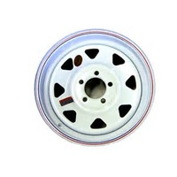 "RIM ONLY - 14"" Ford, White"