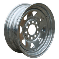 "RIM ONLY - 14"" Multi Fit, Galvanised"