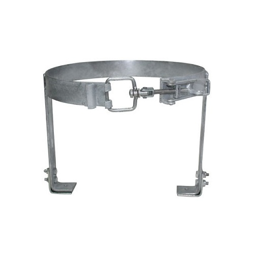 GAS BOTTLE HOLDER - Clamped, Small