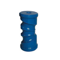 "Blue Nylon  6"" Self Centering Roller"