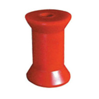 "Red Poly  4"" Keel Roller"