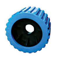 Wobble Roller - Blue, Ribbed