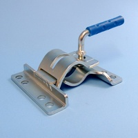 Jockey Wheel Clamp - Single, U Bolt On