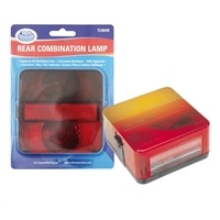 LENS ONLY - Red/Amber, Square (Ark)