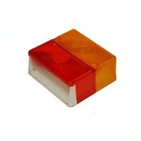 LENS - Red/Amber, Square (Britax)