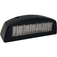 LED NUMBER PLATE LIGHT - Black, Large