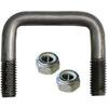 "U Bolts (Square) 100mm x 1/2"" [Length: 200mm]"