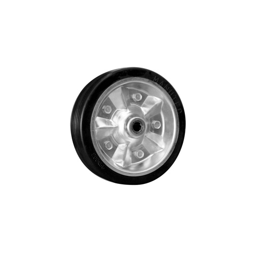 "8"" Replacement Wheel - Solid Rubber with Metal Rim"