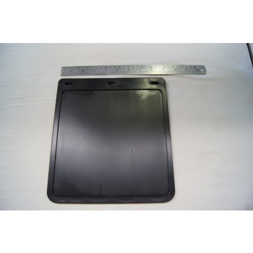 MUDFLAP - Black 230x250mm