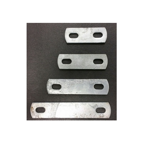 Slotted Plate, Galvanised, 40mm - 90mm Centres